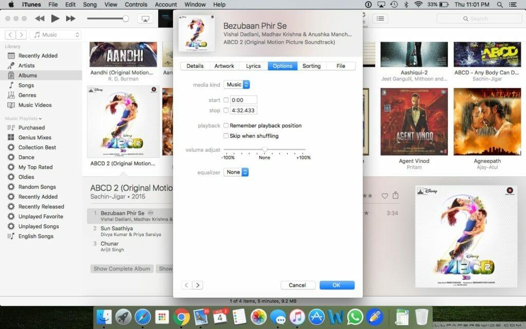 create iPhone ringtones with iTunes