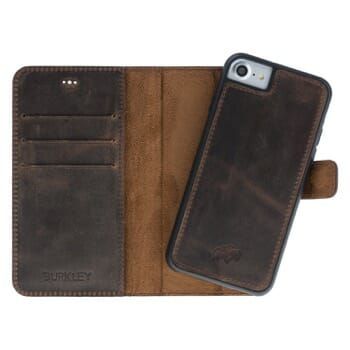 Burkley Detachable Leather Wallet Case