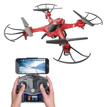 Holy Stone HS200 FPV RC Drone for iPhone X