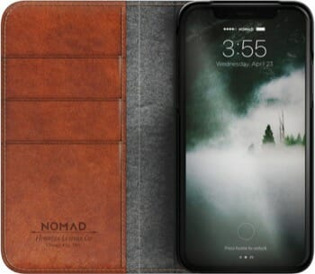 Nomad iPhone X Leather Wallet Folio