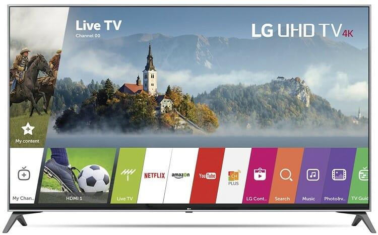 LG 55-Inch UJ7700 Smart 4K TV