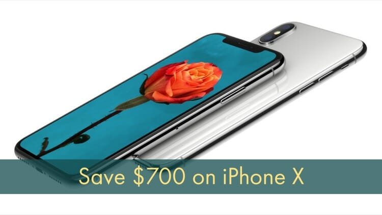 T-Mobile Discount on iPhone X