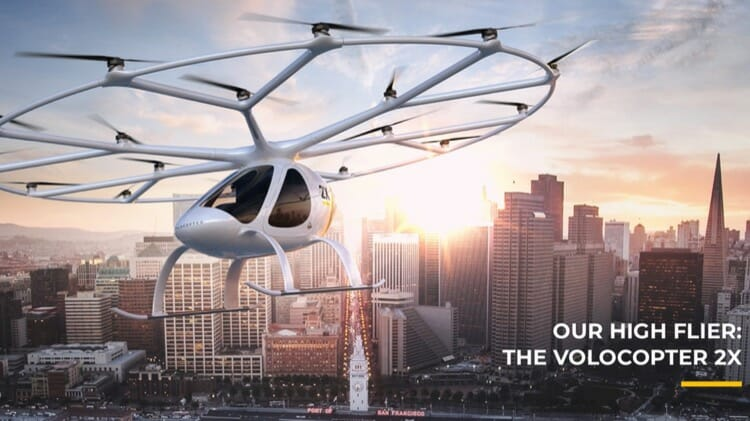 Volocopter A Fliying Taxi Drone