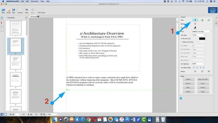 Add A Text To Existing Pages In A PDF
