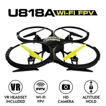 Force1 UDI U818A FPV Drone