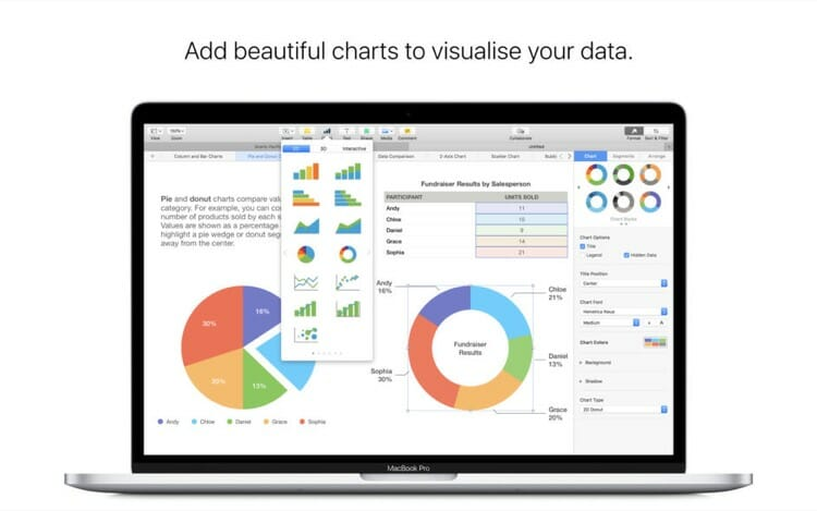 Numbers Mac App on App Store