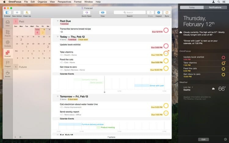 OmniFocus 2 Mac App From App Store