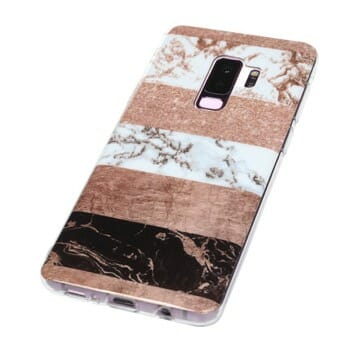 REACHOPE Bling Sparkly Marble Case
