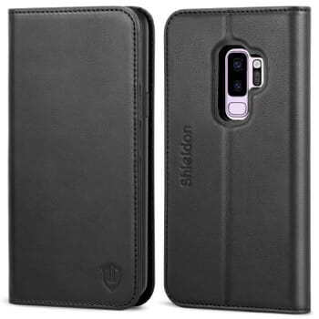 Shieldon Folio Case For Samsung Galaxy S9 Plus