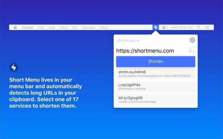 Short Menu Mac App For Better Productivity