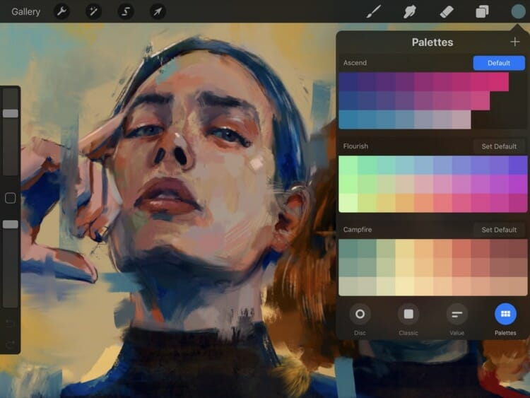 Procreate 4 App On iPad Pro